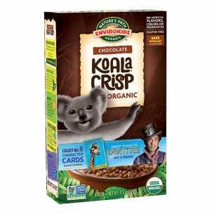 Organic Chocolate Koala Crisps