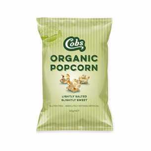 Organic Popcorn Lightly Salted Slightly Sweet