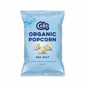 Organic Popcorn Sea Salt