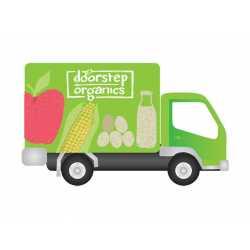Delivery Van Doorstep