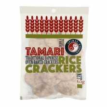 Spiral Foods<br />Tamari Rice Crackers 65g
