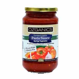 Spring Vegetable Pasta Sauce