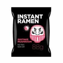 Instant Ramen Noodles Shiitake Mushrooms