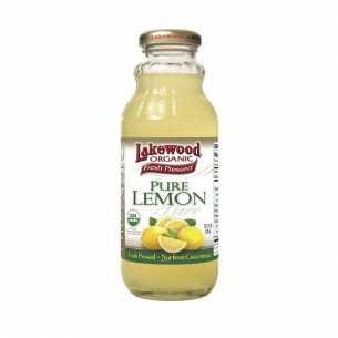 Organic Pure Lemon Juice
