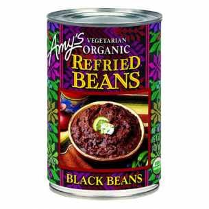 Refried Beans Black