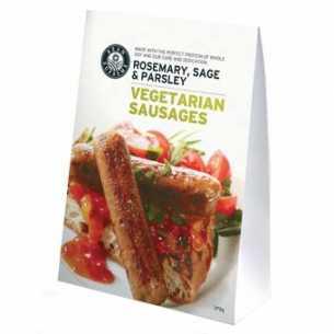 Rosemary Sage and Parsley Vegetarian Sausage