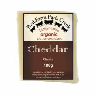 Organic Cheddar Cheese
