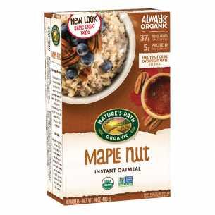 Hot Oatmeal Maple Nut