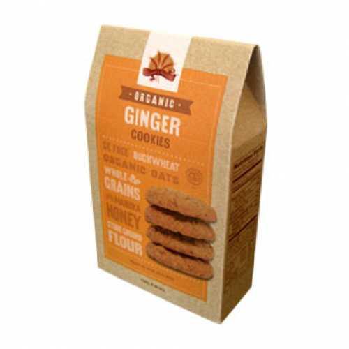 Organic ginger cookies