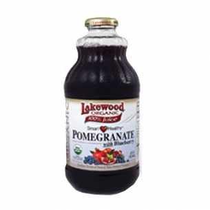 Organic Pomegranate and Blueberry Juice