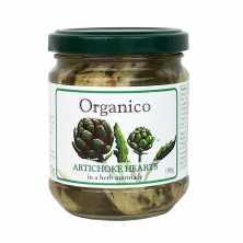 Organico<br />Artichoke Hearts in Herb Marinade 250g