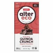 Alter Eco<br />Dark Quinoa Chocolate 80g