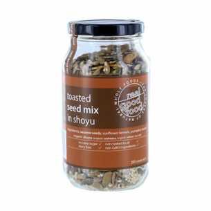 Seed Mix Toasted in Shoyu (Jar)