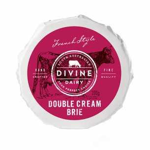 Organic Double Cream Brie