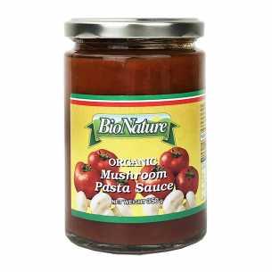 Organic Mushroom Pasta Sauce