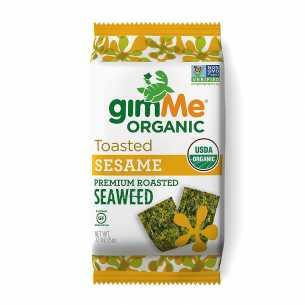 Organic Sesame Roasted Seaweed Snacks