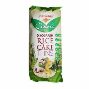 Organic Rice Cakes Thin Sesame