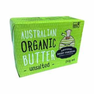 Organic Butter Unsalted