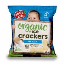 Whole Kids <br />Rice Cracker Sea Salt 4x15g