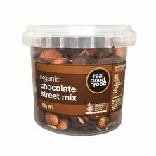Real Good Food<br />Organic Street Mix Chocolate 200g