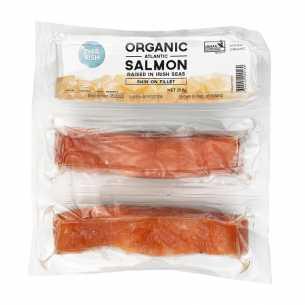 Organic Atlantic Salmon Fillets - Skin On