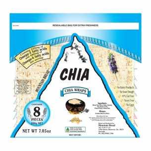 Chia Wrap Bread (8 pieces)