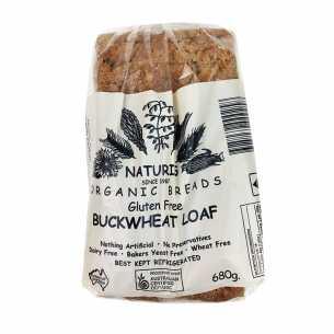 Gluten Free Buckwheat Loaf (Sliced) - Frozen