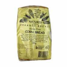 Naturis <br />Gluten Free Corn Bread (Sliced) - Frozen 680g