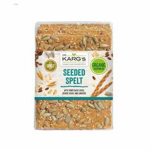 Seeded Spelt Crispbread<br>