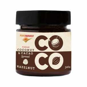 Coconut and Cacao  Hazelnut Spread