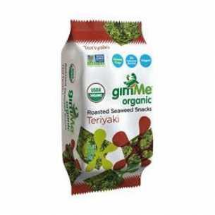 Organic Teriyaki Roasted Seaweed Snacks