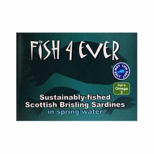 Brisling Sardines in Spring water