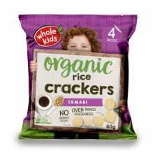 Whole Kids <br />Rice Cracker Tamari 6x15g