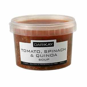 Tomato Spinach Quinoa Soup<br>