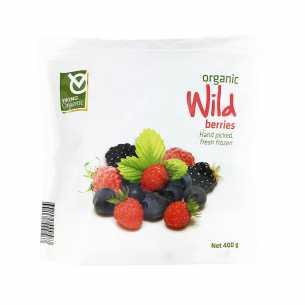 Frozen Organic Wild Berries