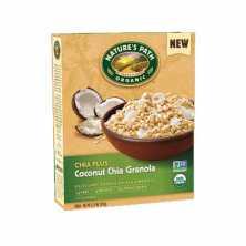 Nature's Path <br />Organic Coconut Chia Granola - Clearance 350g