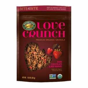 Love Crunch Granola Dark Chocolate with Berries