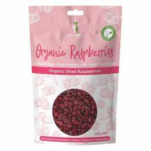 Dried Raspberries Organic