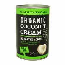 Honest to Goodness<br />Organic Coconut Cream 400ml