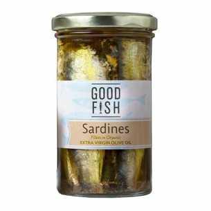 Sardines in Extra Virgin Olive Oil JAR