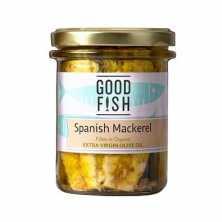 Spanish Mackerel in Extra Virgin Organic Olive oil JAR<br>