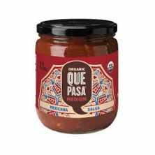 Que Pasa<br />Organic Mexican Salsa Medium 454g
