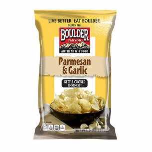 Parmesan and Garlic Chips