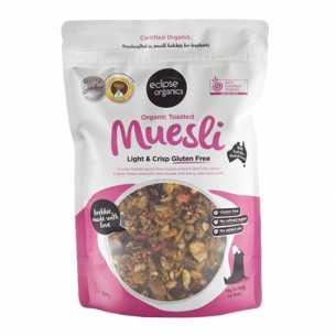 Muesli, Toasted Light and Crisp Gluten Free
