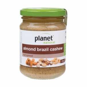 Almond Brazil Cashew Nut Spread