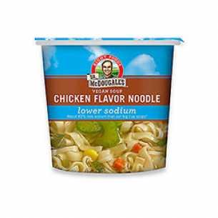 Chicken Flavour Instant Noodle Soup Light Sodium