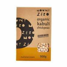 Mount Zero<br />Organic Kabuli Chick Peas 500g