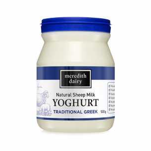 Sheep's Milk Traditional Greek Yoghurt (Blue Lid)