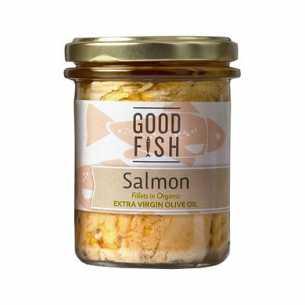 Alaskan Salmon in Extra Virgin Olive Oil JAR