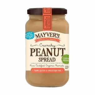 Organic Peanut Spread Crunchy